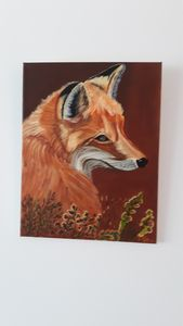 Foxy fox - Affordable oil paintings