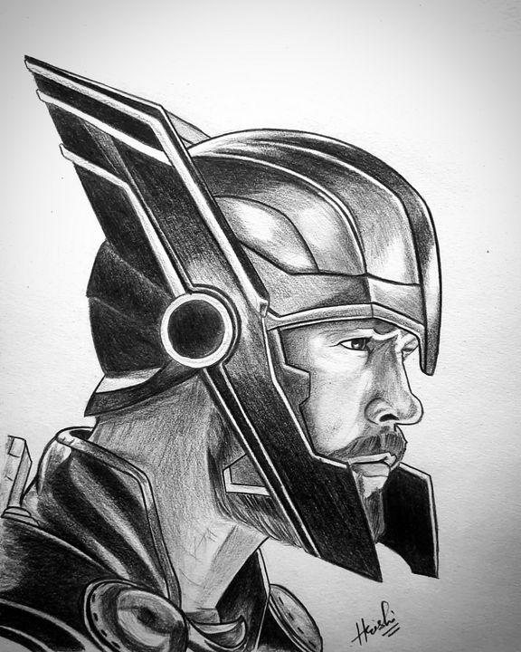 Thor sketch - Sketch room