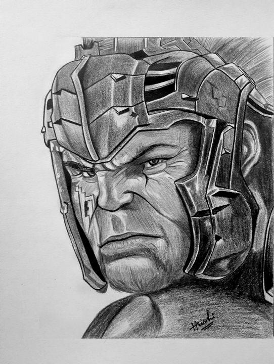 Hulk from thor ragnarok - Sketch room