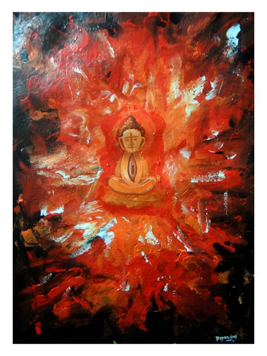 Buddha Neytra Dhiyanam painting - D-Creation