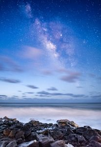 The Milky Way over Maui