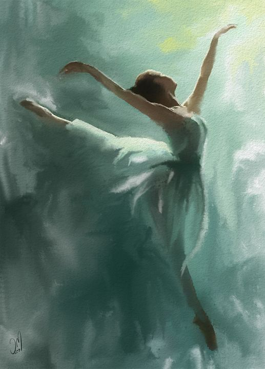 Ballerina - Jovan watercolors