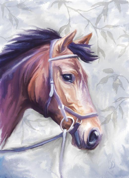 Horse - Jovan watercolors