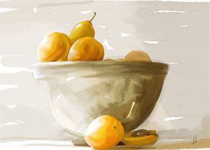 still life - Jovan watercolors