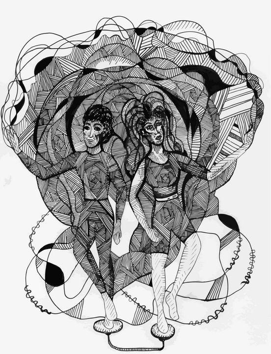 Gemini Acrobats - Gromoslav's Shop of Wonders