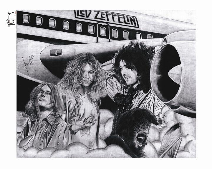 Led Zeppelin Artwork - ROCKART