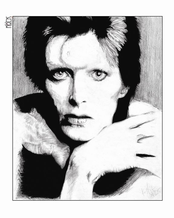 David Bowie Artwork - ROCKART