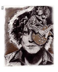 Marc Bolan Artwork