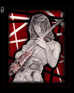 Eddie Van Halen Artwork