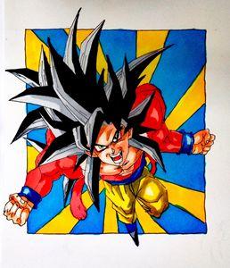 Goku Super Saiyan 4 (1)