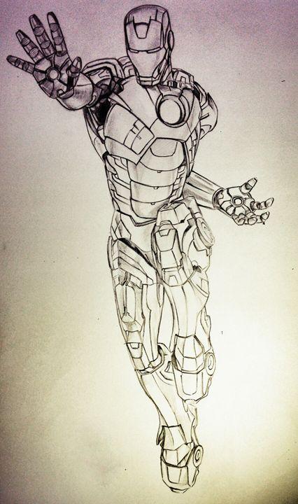 iron man - Abhishek