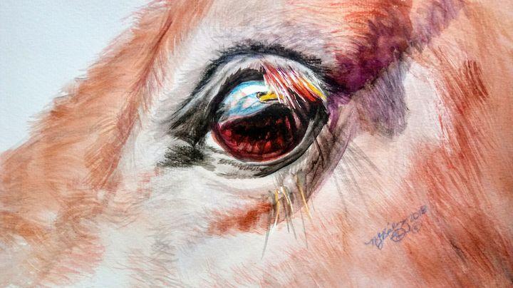 "Horse ""Eagle Eye"" - NancyJBailey"