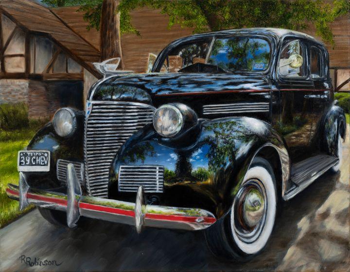 1939 Chevy Coupe - Randy Robinson Art
