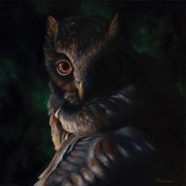 The Watcher - Randy Robinson Art