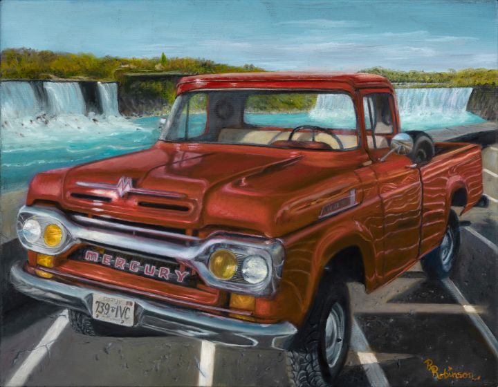 1960 Mercury M100 - Randy Robinson Art