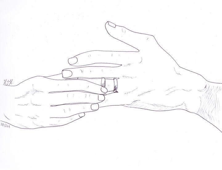 Two Rings - Lady Cynthiana's Art