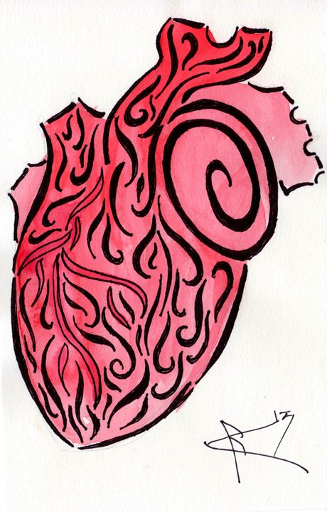 Anatomically inspired Heart - Primal Creatures