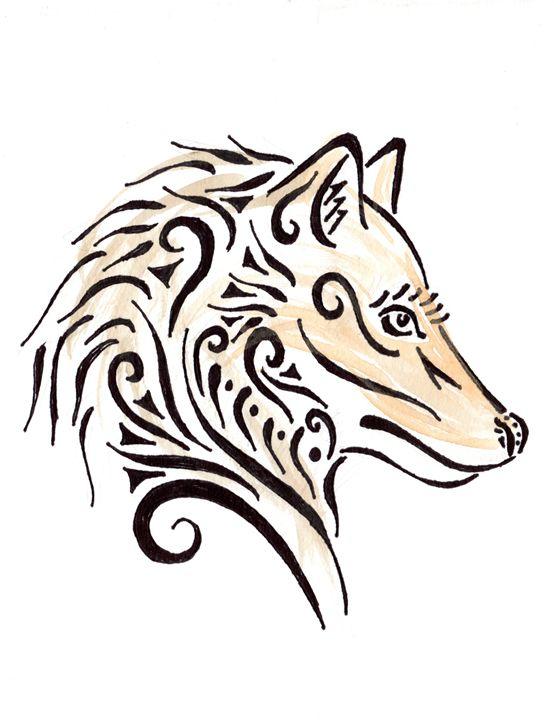 Tribal Wolf - Primal Creatures