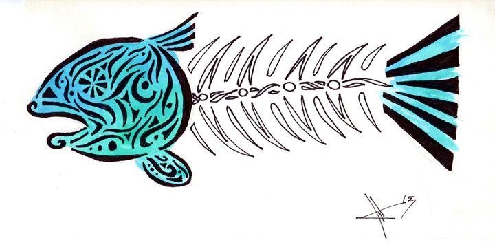 Dead Fish Tribal - Primal Creatures
