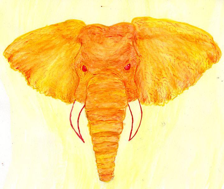 Golden Elephant - Primal Creatures