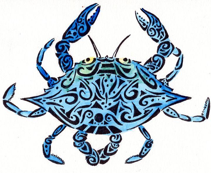 Tribal Blue Crab - Primal Creatures