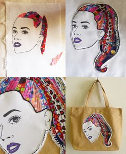 KATY PERRY Iconic Canvas Tote