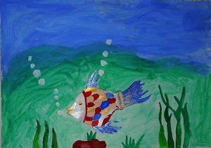 Water Fish Painting