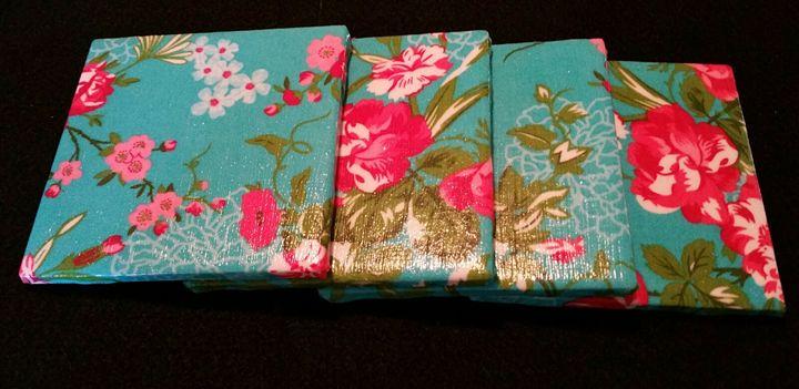 Decorative Tile Coasters - Dye Decor & More