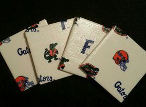 Florida Gator Coaster Set - Dye Decor & More