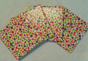 Decorative Tile Coaster Set - Dye Decor & More