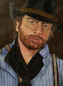 Arthur Morgan (RDR2) - Gina Murphy Art