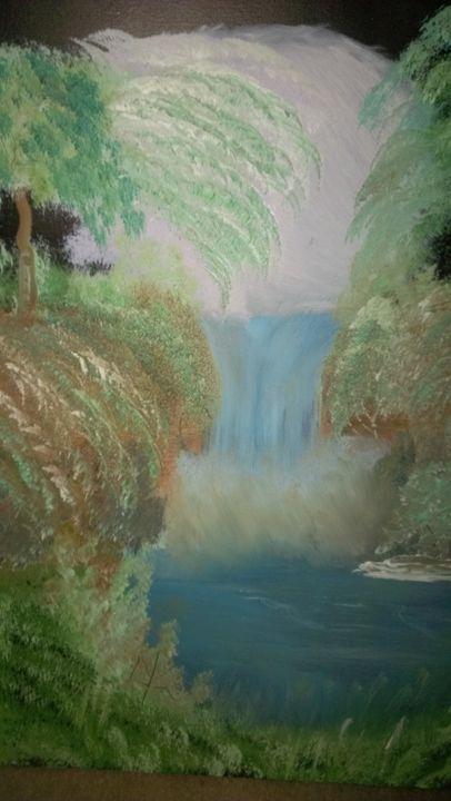 mystic waterfall - kevin2014