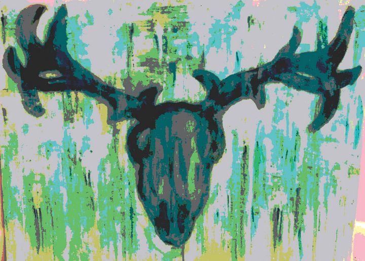 Abstract Skull - SA Sarah Ann