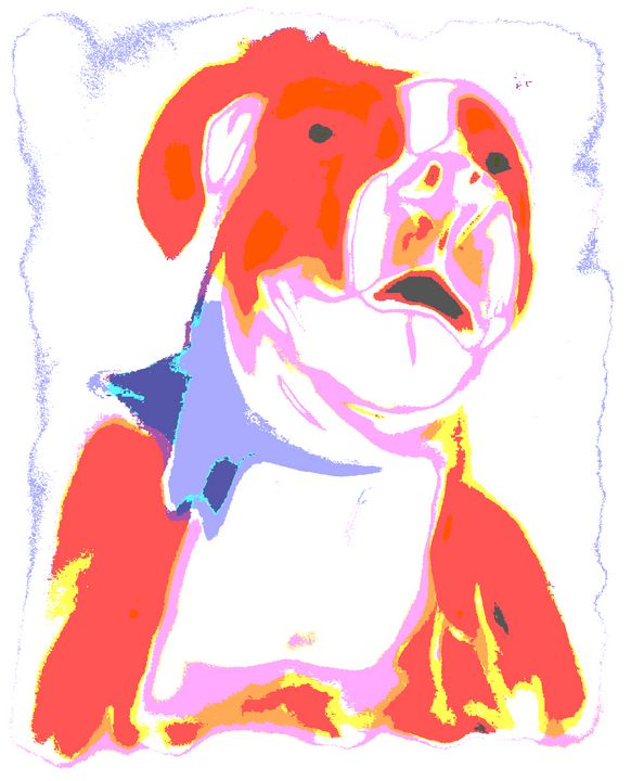Willy the Pitty Poster Style - SA Sarah Ann