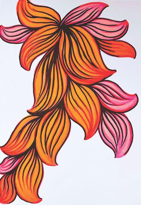 Colorful Abstract Design - SA Sarah Ann