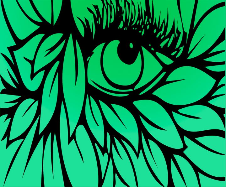 Green eye - SA Sarah Ann