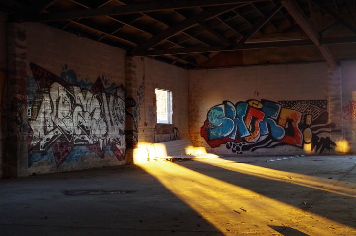 Golden Hour Graffiti - Pash3n Photography