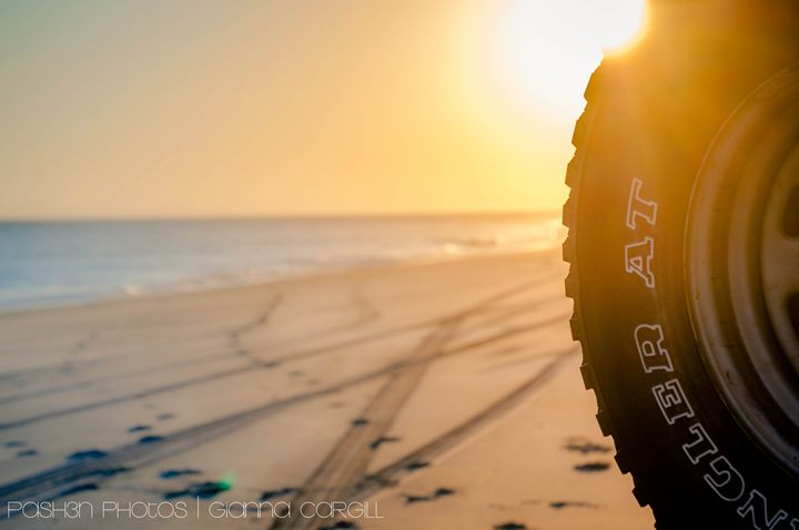 Beach Tire - Pash3n Photography