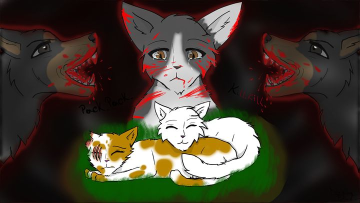 Brightheart's dream - Drawing Blue