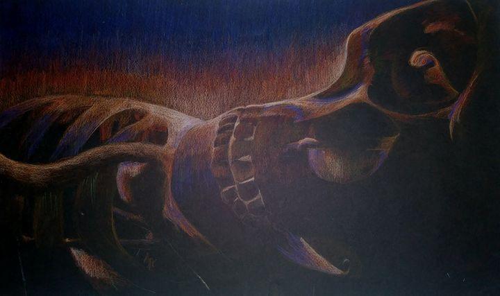 Beauty in death - Art by C. Schubert