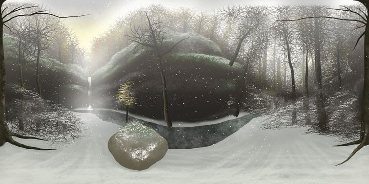 Secret Hollow - January - Soul of the Earth Art and Design