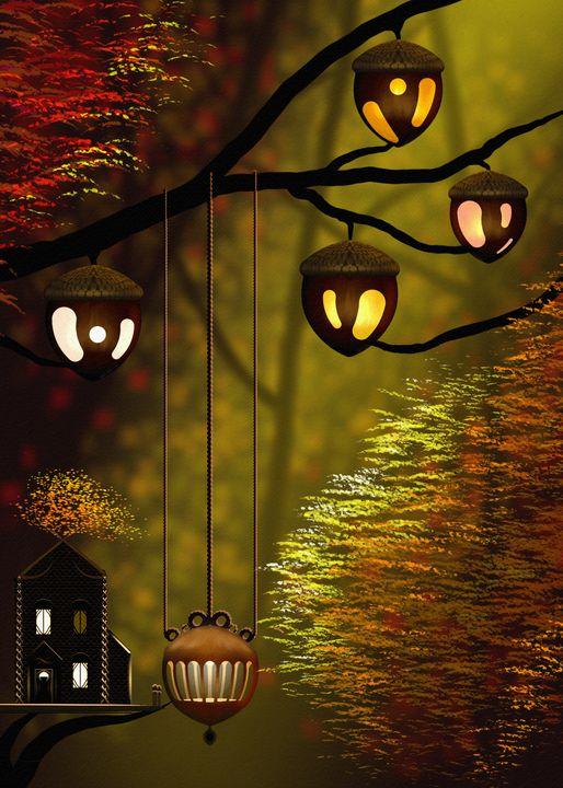Goldleaf Villiage - Soul of the Earth Art and Design