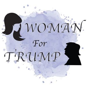 Woman For Trump Edit