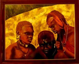 jeunes guerriers Maasaï
