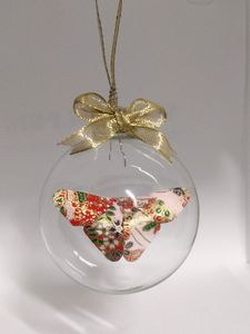 Red Hills Butterfly Origami Ornament