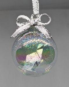 Mini Silver Penguin Ornament - Starfruit Sky