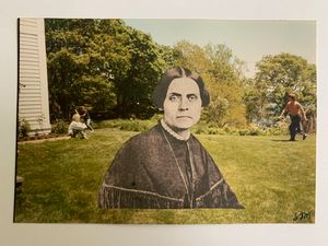 Susan B Anthony on Manchester Lawn