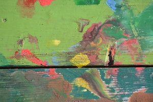 Colorful painted abstract background