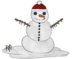 Snowman for the holidays