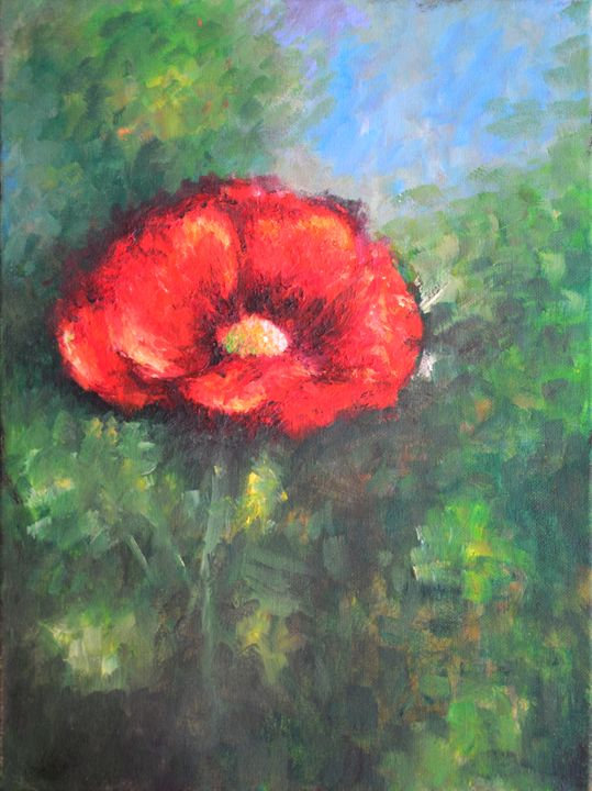Poppy Flower - ArtMind